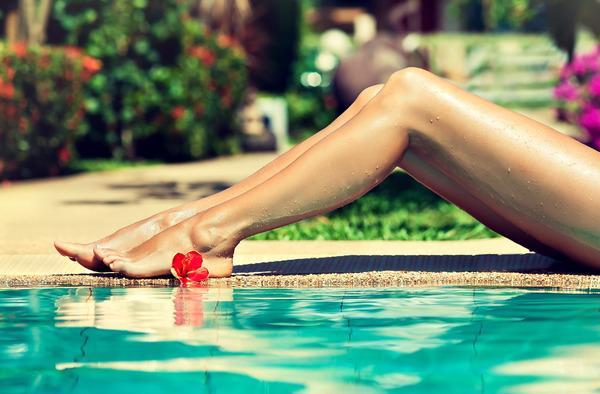 Вросшие волосы на ногах – причины, фото и что делать