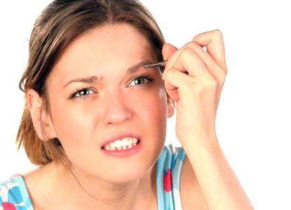 Опухла бровь – причины, фото и что делать
