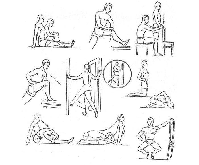 Гимнастика при остеоартрозе коленного, тазобедренного, голеностопного сустава