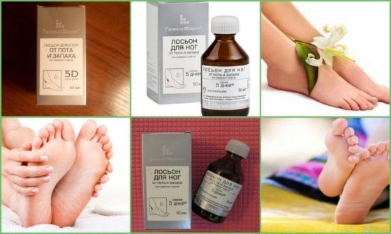 5 дней средство от пота и запаха ног (порошок и лосьон): инструкция, цена, отзывы