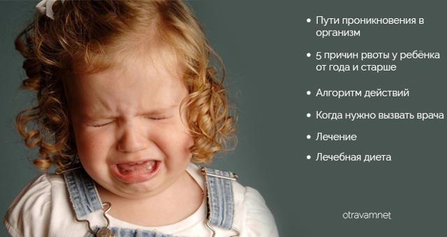 Чем остановить рвоту у ребенка: подробная инструкция
