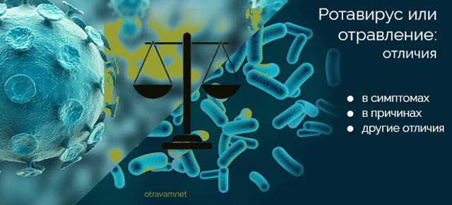 Как отличить ротавирус от отравления: подробная информация